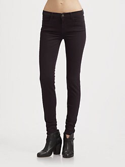 J Brand - 620 Mid-Rise Super Skinny Jeans