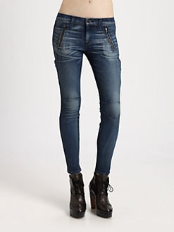 rag & bone/JEAN - Cargo Skinny Jeans