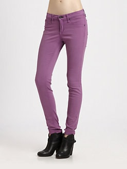 rag & bone/JEAN - Mid-Rise Denim Leggings