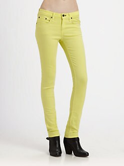rag & bone/JEAN - Slim-Fit Skinny Jeans