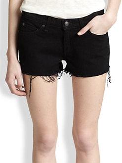 rag & bone/JEAN - Cut-Off Denim Shorts