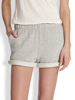 rag & bone/JEAN - Cotton Jersey Boyfriend Shorts