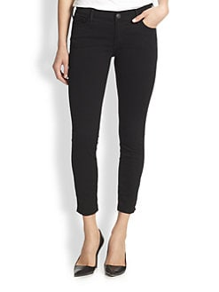 True Religion - Linda Cropped Skinny Jeans