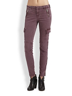 J Brand - Cargo Zip Skinny Pants