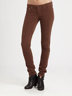 AG Adriano Goldschmied - Super Skinny Corduroy Jeans