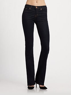 J Brand - Mid-Rise Bootcuts Jeans