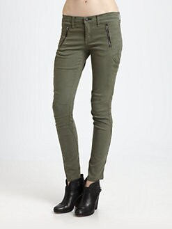 rag & bone/JEAN - Cargo Zip Skinny Jeans