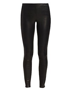 J Brand - Lambskin Leather Leggings