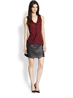 Theory - Parlier Draped Top