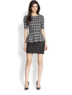 Theory - Defta Porter Check Top