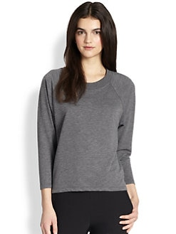 Theory - Nadika Bryman Cotton Knit Top