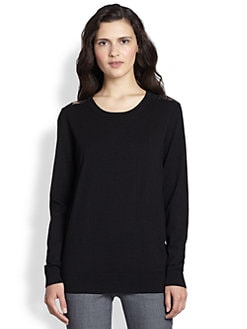 Theory - Jaidyn Evian Stretch Wool Top