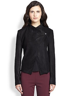Theory - Kenza Leather Equalize Jacket