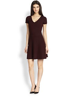 Theory - Anderz Evian Stretch Wool Dress