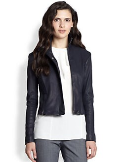Theory - Frayda Danish Leather Jacket