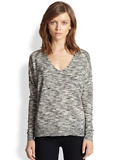 Theory - Bellane Slouched Space-Dye Sweater