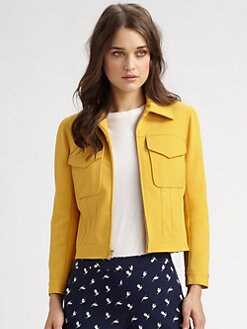Theory - Vika Zip-Front Jacket