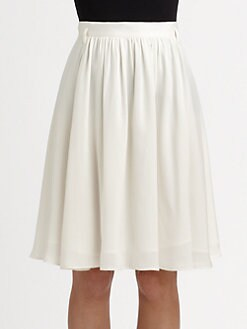 Theory - Anca Silk Skirt