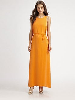 Theory - Tabia Silk Maxi Dress