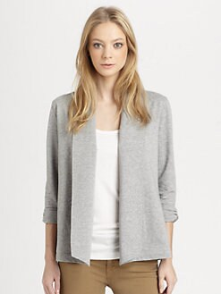 Theory - Ashbey Open-Front Cardigan
