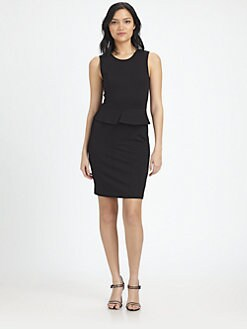 Theory - Dellera Peplum Dress
