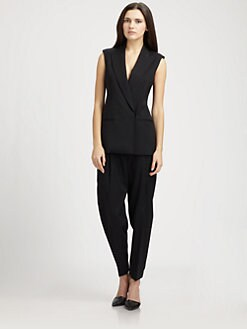 Theory - Annea Caledon Sleeveless Jacket