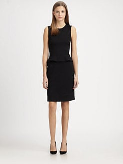 Theory - Dellera Pryor Peplum Dress