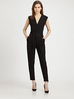 Theory - Surplice Jumpsuit
