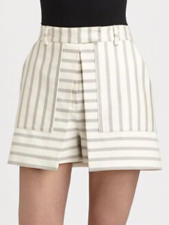 Theory - Caslyn Open-Front Skort