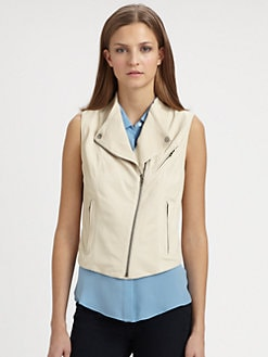 Theory - Zida Ford Leather Vest
