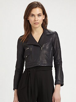 Theory - Pavati Leather Jacket