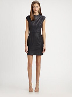 Theory - Orinthia L. Ford Leather Dress