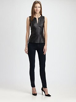 Theory - Etia Peplum Top