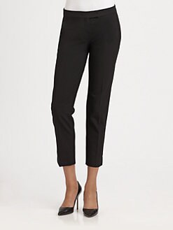 Theory - Ibbey Cropped Wool Pants