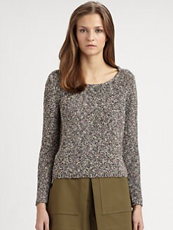 Theory - Zelphia Wide Neck Sweater