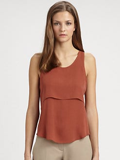 Theory - Sondray Sleeveless Silk Top