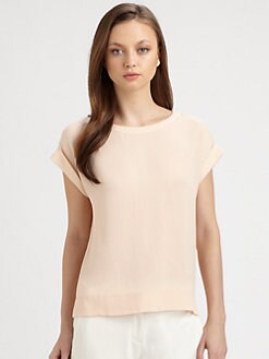 Theory - Sorcha Silk Top