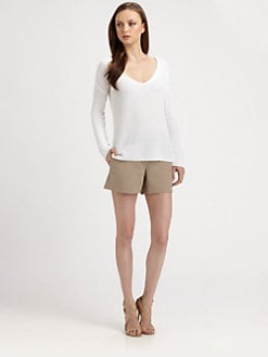 Theory - Dafna Linen/Cotton Sweater