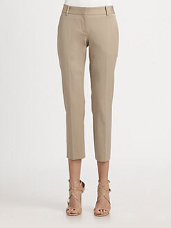 Theory - Testra Cropped Stretch Pants