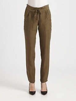 Theory - Sidonia Silk Pants