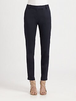 Theory - Ainhoa Stretch Cotton Pants