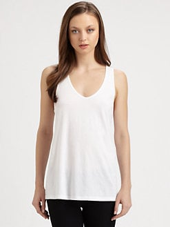 Theory - Khitta Cotton Tank Top