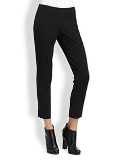 Theory - Belisa Cropped Skinny Dress Pants