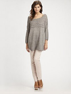 Theory - Bracha Melange Sweater