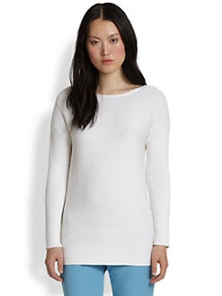 Theory - Lorinna Cotton & Cashmere Sweater