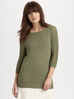 Theory - Malca Crochet Sweater