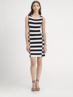 Theory - Lasina Striped Dress