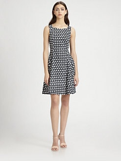 Theory - Elexis Abstract Print Dress