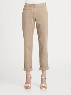 Theory - Rumer Cuffed Chino Pants