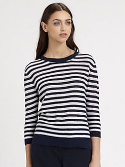 Theory - Rainee Striped Sweater